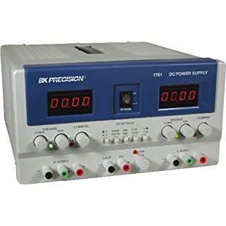 B&K Precision 1760A Triple Output DC Power Supply Series, 0-30 V (A&B), 4-6.5 V (C) Output Voltage