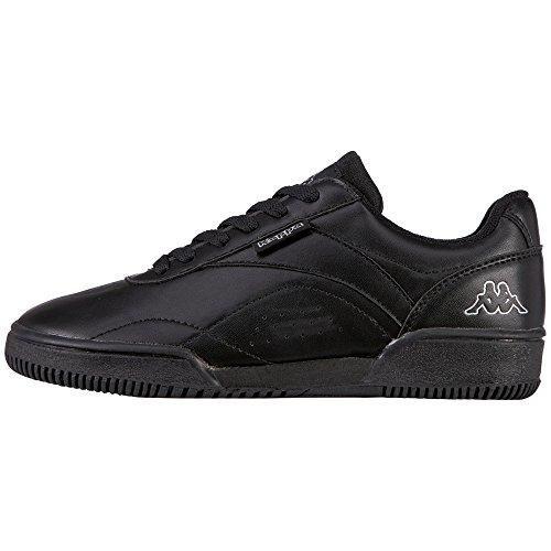 Kappa Combat, Zapatillas para Mujer Negro (Black)