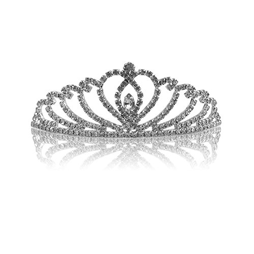 Ou Mini Diadème Pour Demoiselle 4 Strass Mariée D'honneur Serre 1669 Nuptiaux tête Katara Princesse Tiare De 1 Pièces En Set Diadèmes qHtZaU4