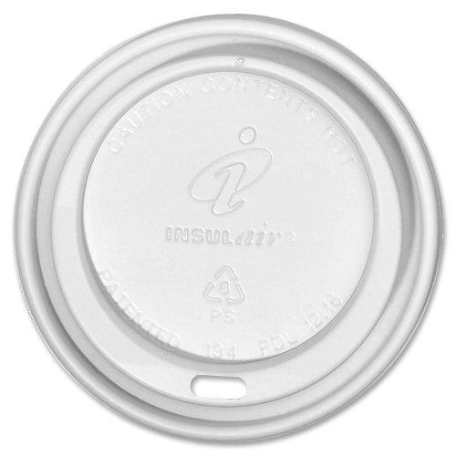 Dixie Foods 8FR1000 Insulair Lids, 8 oz, 1000/CT