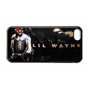 MMZ DIY PHONE CASEGators Florida USA Design-6 Rap King Lil Wayne Print Black Case With Hard Shell Cover for Apple iphone 4/4s