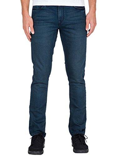 (Volcom Men's 2X4 Stretch Denim Jean, Harbor Blue, 28X30)