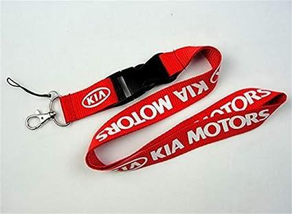 okokk90909o Auto cordón Car Logo Lanyard Llavero Llavero Tarjeta de identificación móvil Correa Colgante Llavero de Regalo(123)