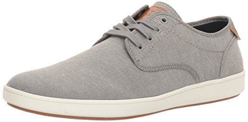 Steve Madden Men's Fenta Fashion Sneaker, Grey Fabric, 8.5 M US