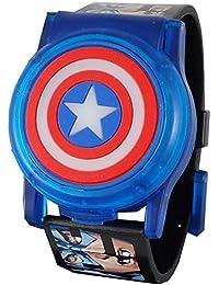 Avengers Captain America Kid's Digital Light Up Watch...