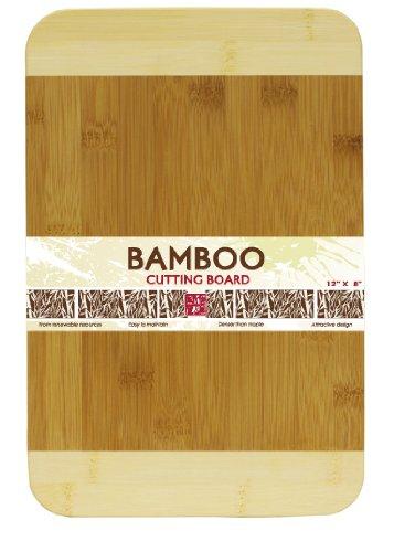 - Home Basics Cutting Board, Bamboo, 8 by 12-Inch