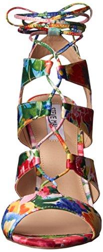 Steve Madden Floral Femme Sandales Sandalette Multi xpRwxZd