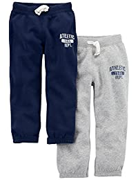 Carter's Baby-Boys 2-Pack Fleece Pant