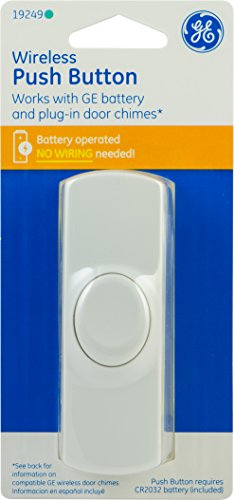 GE 19249 Wireless Doorbell Button