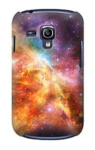 E1963 Nebula Rainbow Space Funda Carcasa Case para Samsung Galaxy S3 mini