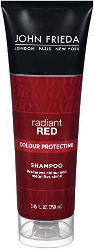 John Frieda Radiant Red Color Captivating Daily Shampoo, 8.4