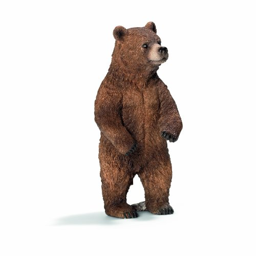 (Schleich Grizzly Female Bear Toy Figure)
