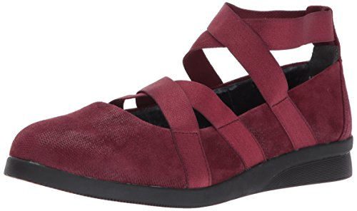 JBU by Jambu Women's Rumson Ballet Flat, Wine, 8.5 M - Flat Womens Rogue