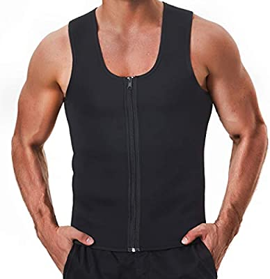 Amazon.com: Traje de sauna de neopreno con camiseta: Sports ...
