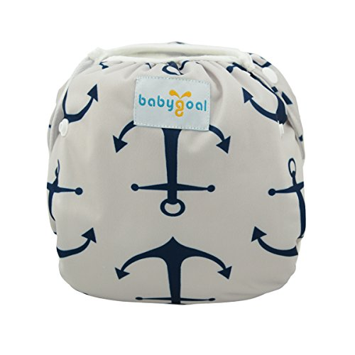 Babygoal Reuseable Washable Adjustable Swim Diapers