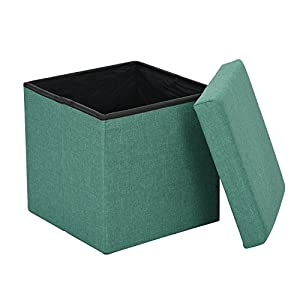 Coavas Foldable Storage Ottoman Footrest Stool from DHHX CO