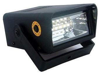 Mini LED Strobe Light with Creepy Halloween Sounds -