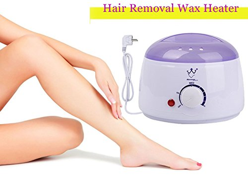 Waxing Spa Basic Kit (VideoPUP(TM)Wax Warmer Heater Machine,Electric Hair Removal Tool,Salon Spa Beauty Equipment for Hard waxing, Strip waxing, Paraffin Waxing)