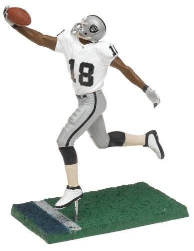 T M P Intl NFL Series 11 Figure: Draft Pick - Randy Moss, Oakland Raiders White Jersey