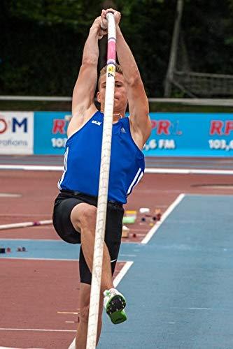 Junior Pole - Home Comforts Laminated Poster Sport Pole Vault Junior Gala Mannheim Athletics Vivid Imagery Poster Print 24 x 36