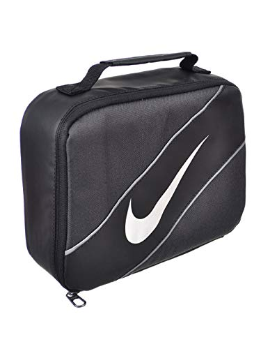 Nike Contrast Insulated Reflective Anthracite Tote Lunch Bag (Lunch Bag Big Phil)