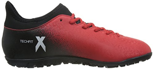 adidas X 16.3 Tf, Botas para Hombre Rojo (Red/ftwr White/core Black)