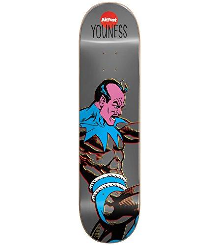 Almost Youness Amrani Resin 7 Sinestro Skateboard Deck - Micro Skateboard Deck