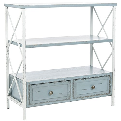 Safavieh American Homes Collection Chandra Pale Blue and White Smoke Console Table