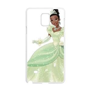 Samsung Galaxy Note 4 White phone case Disney Princess Tiana DPC9364888