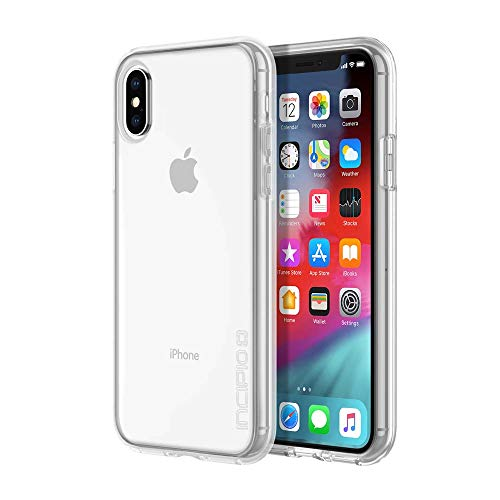 """Incipio Octane Pure Case for iPhone Xs (5.8"""") & iPhone X with Translucent Back Shell and Shock-Absorbing Outer Edge Bumper - Clear from Incipio"""