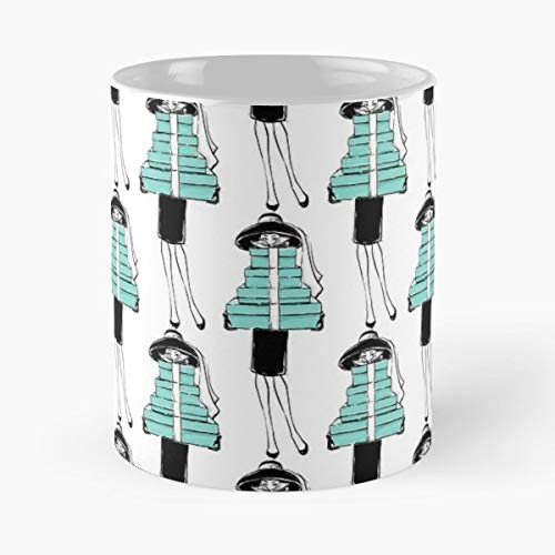 New Years T Shirt Breakfast At Tiffanys Accessories - 11 Oz Coffee Mugs Ceramic The Best Gift For Holidays, Item Use Daily.