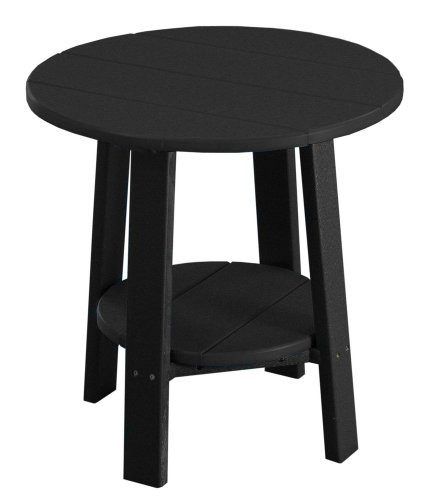 Cheap Deluxe End Table – Poly – Black