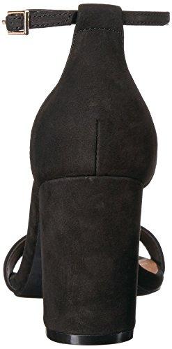 Steve Madden Womens Declair Dress Sandal Black Nubuck