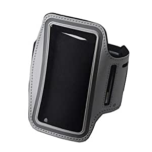 ZL Convenient Outdoor Sports Armband with Transparent Window for iPhone 4/4S , Black