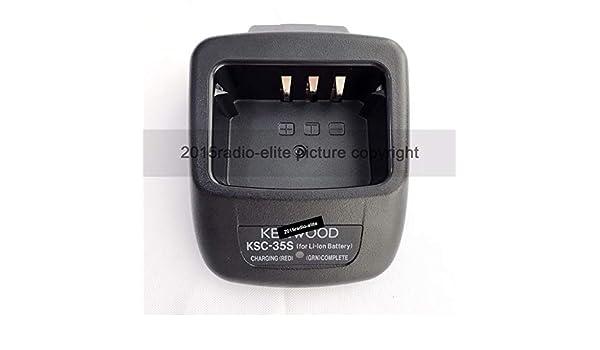 OEM KSC-35 Charger Base For Kenwood THK20 TKD240 TK2312 TK2400 TK3400 RADIO