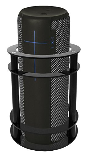 Price comparison product image FitSand Speaker Guard Stand Station for UE MEGABOOM - Enhanced Strength and Stability to Protect Alexa Boom Speaker (Black)