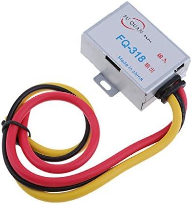 カーオーディオフィルターアンプノイズサプレッサーレデューサーGPSヘッドユニットDC 12VステレオDVDアルミシェル電源ケーブル