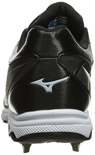 Advanced 9 Women's Sweep 3 Spike White White Shoe Mizuno 6 Black Softball Black 6qawg6