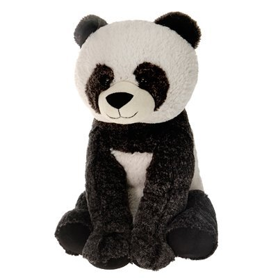Sitting Panda Bear - Sitting Panda Bear Plush Stuffed Animal Toy by Fiesta Toys - 16