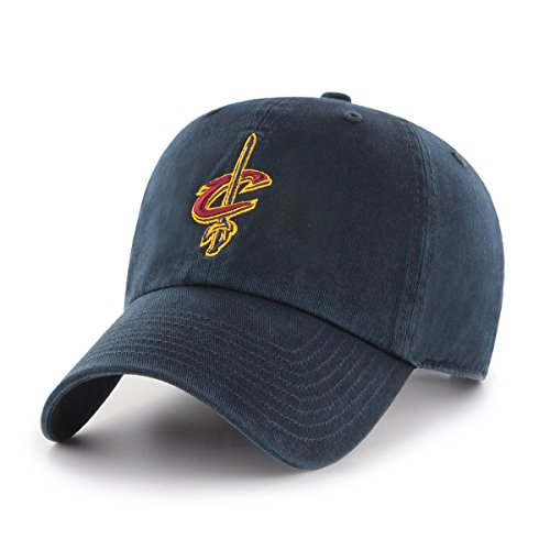 NBA Cleveland Cavaliers OTS Challenger Adjustable Hat, Navy, One Size