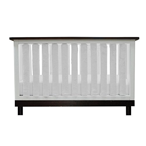 PURE-SAFETY-Vertical-Crib-Liners-24-Pack-in-Luxurious-White-Minky