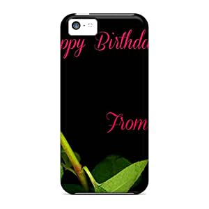 (kXBLJ514EMBBH)durable Protection Case Cover For Iphone 5c(happy Birthday Carmen)