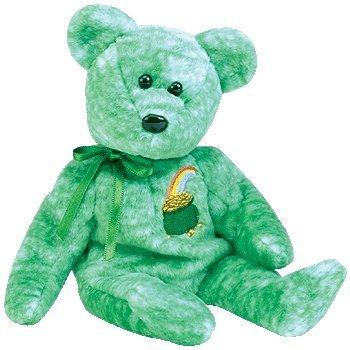(Ty Beanie Baby - Killarney the Irish Bear)
