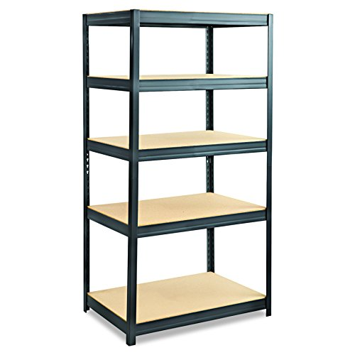 Safco Products 6247BL Boltless Steel and Particleboard Shelving 36