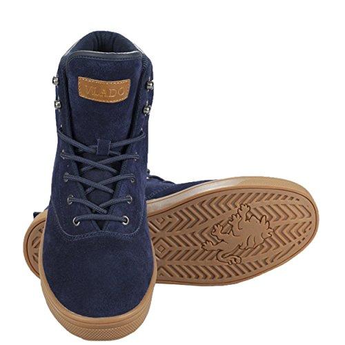 Vlado Chaussures Milo Haut Top Sneaker Boot Navy