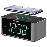 Emerson Alarm Clock Radio and QI Wireless Phone