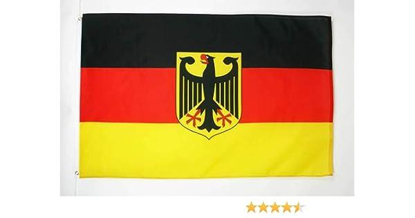 AZ FLAG Bandera de Alemania con Aguila 150x90cm - Bandera Alemana ...
