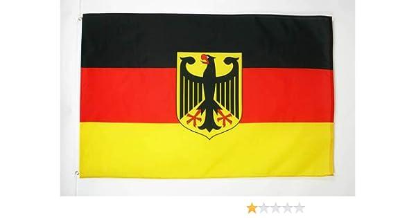 AZ FLAG Bandera de Alemania con Aguila 250x150cm - Gran Bandera ...