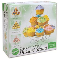 Wilton Cupcakes 'N More Small Dessert Stand