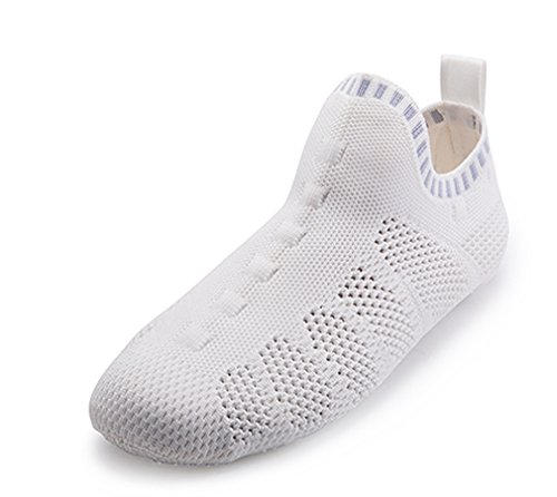 Gym Beige Indoor 3D White Knit Yoga Orignal Like Design Slipper Sock Sneaker 8qgxaOxw